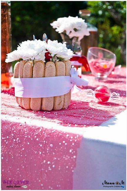 2 mariages, 2 centre de table. Laquel préfères-tu ? - 1