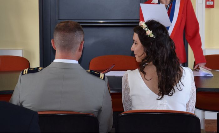 Robe courte mariage civil - 2