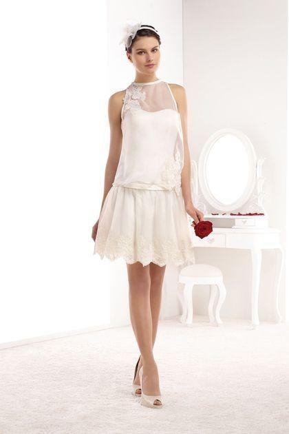 La robe de mariée courte à l\u0027église?