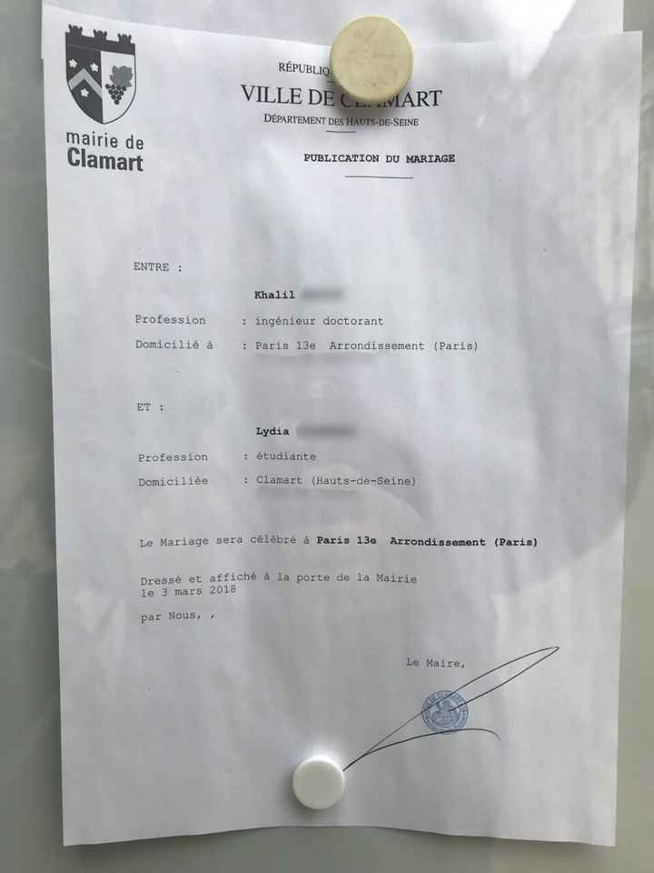 Bans Publiés 💑 - 2