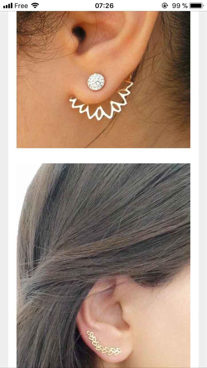 Boucles d'oreilles ?? - 1