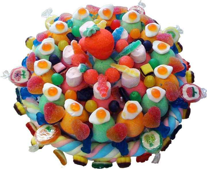 Candy bar 🍭 gâteau de bonbons - 3
