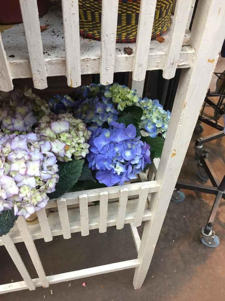 Inspiration fleurs blanches et bleues - 9