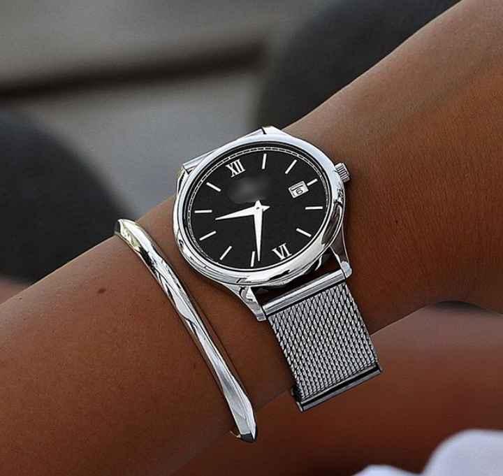 Style de montre + bracelet pour le marié - 2