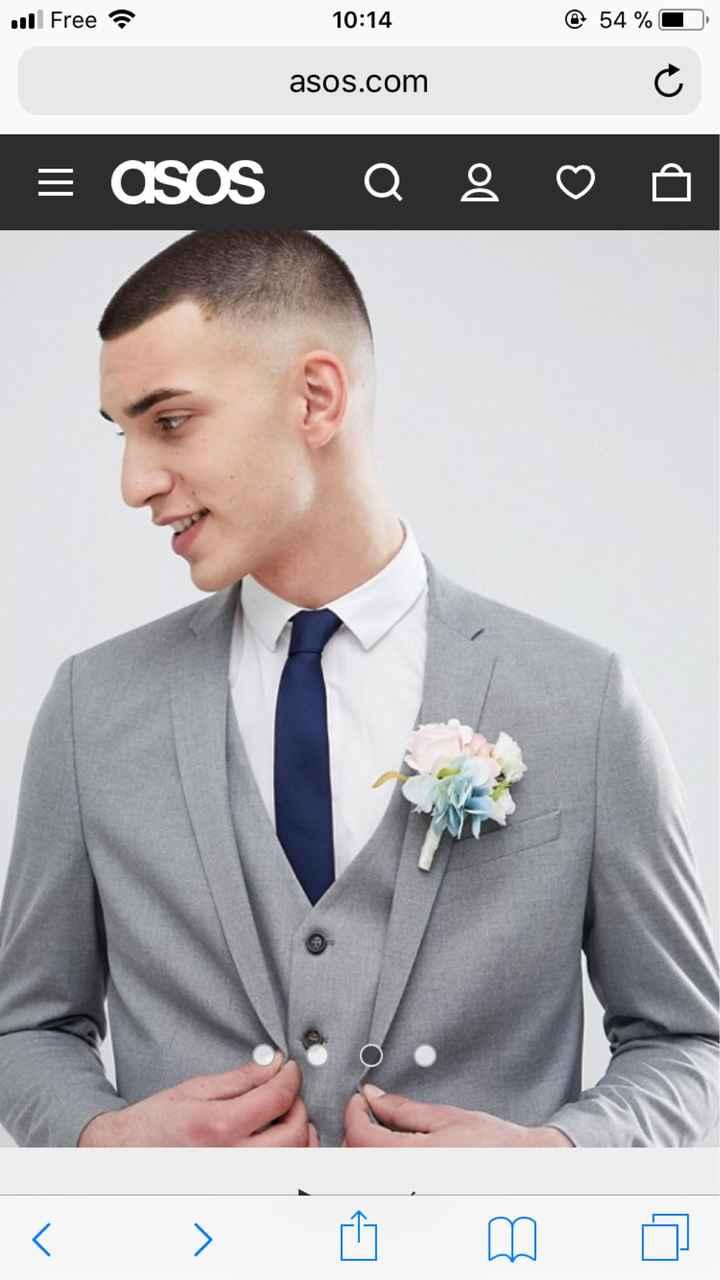 Quelle couleure de cravate pour Mr? - 2