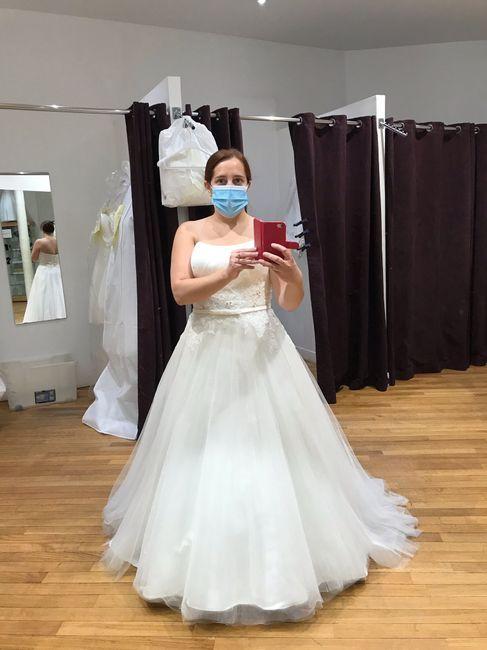J'ai enfin ma robe ;) 1