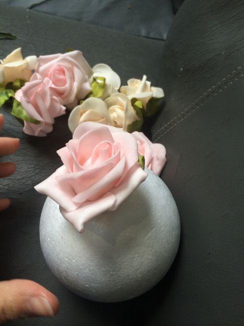 Tutoriel boule de roses ... - 3