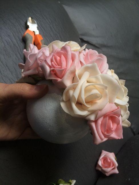 Tutoriel boule de roses ... - 4