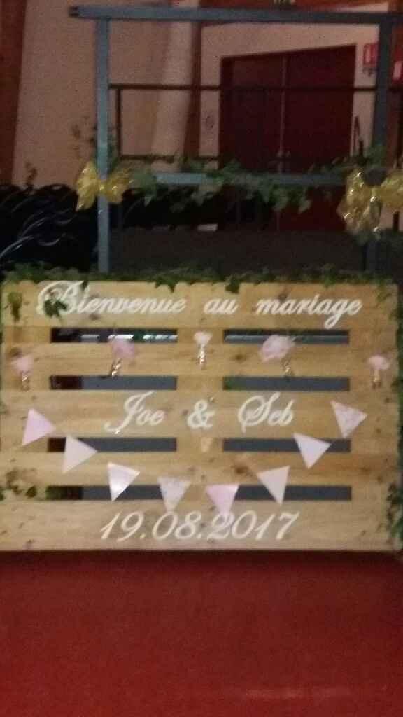 Vos panneaux de mariage ! - 1