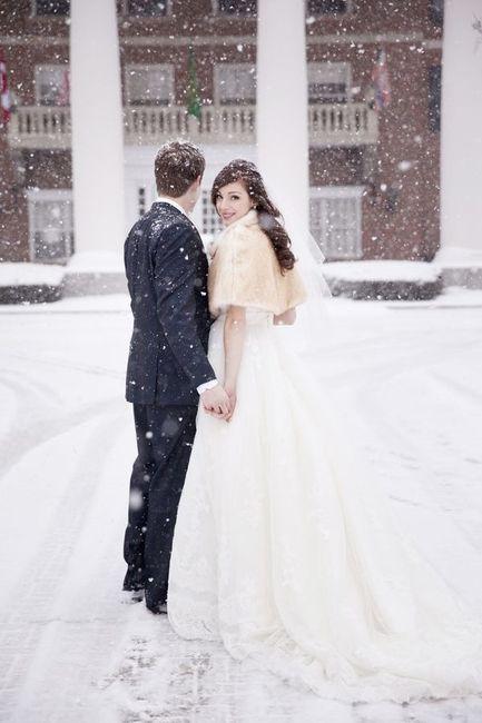 Brides escena de emparejamiento pero el
