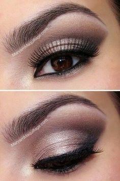 10 maquillages pour les yeux marrons beaut forum. Black Bedroom Furniture Sets. Home Design Ideas
