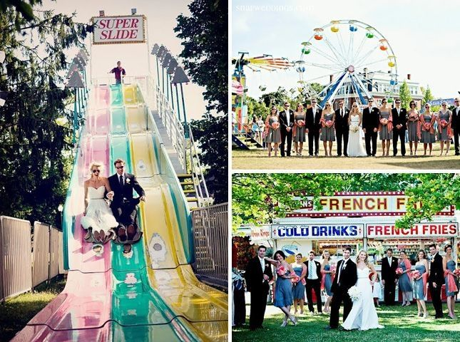 mariage fete foraine