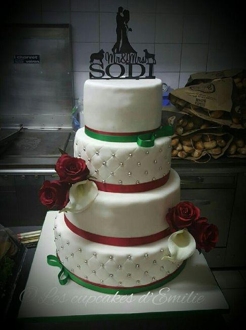 Notre wedding cake - 1