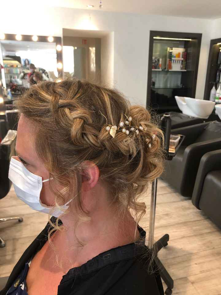 Essai coiffure à 22 j du mariage - 3
