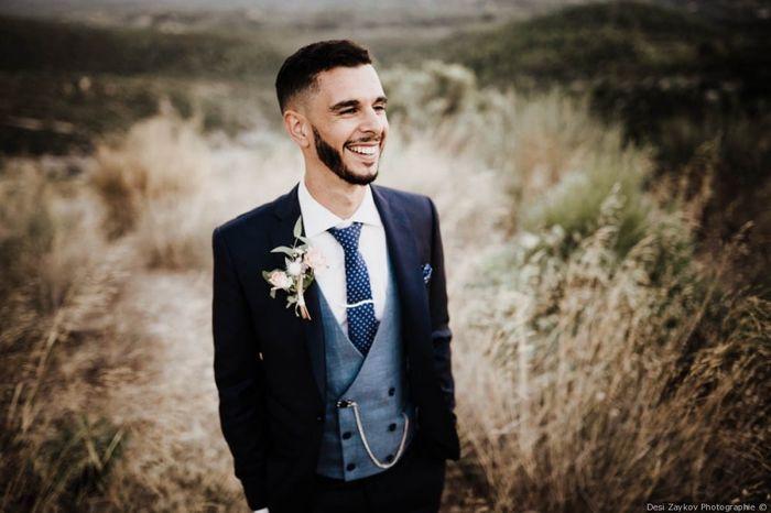 Vote pour le plus beau look du marié ! 1