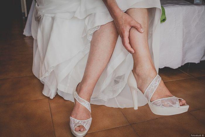 2 mariages, 2 talons. Lesquels préfères-tu ? 1