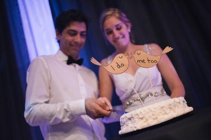 2 mariages, 2 wedding cake. Lequel préfères-tu ? 1