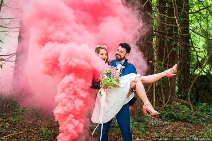 Écris seulement les couleurs de ton mariage ! 1