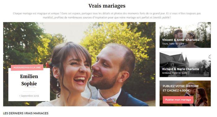 Comment publier votre reportage de mariage ? 1