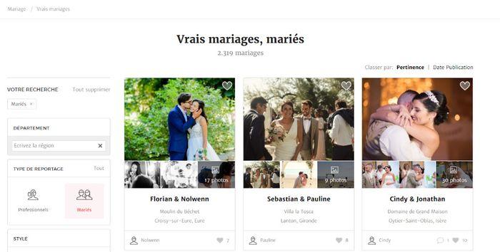 Comment publier votre reportage de mariage ? 4