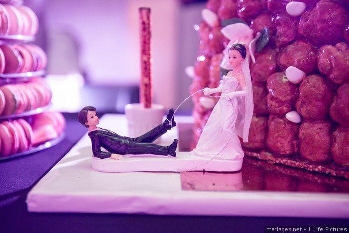 A prendre ou à laisser : un cake topper humoristique 1