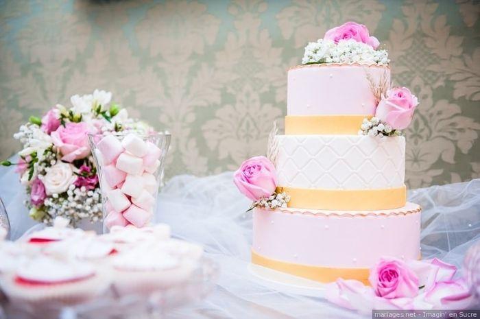 Mon wedding cake sera à ____ 🎁 1