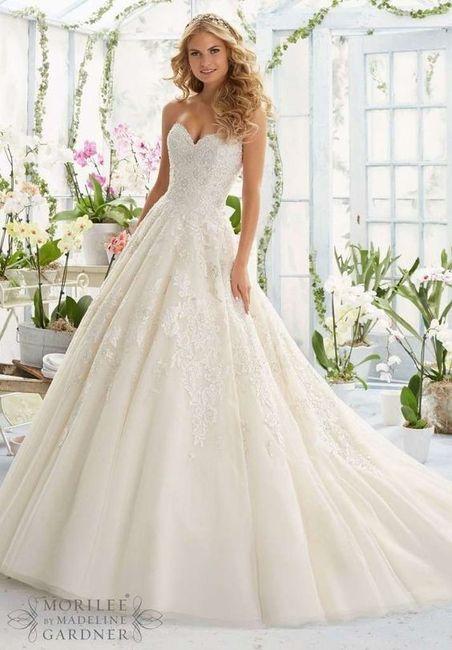Quelle robe de mariée vous fait craquer? 1