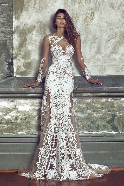 Quel adjectif pour cette robe de mariée? 1