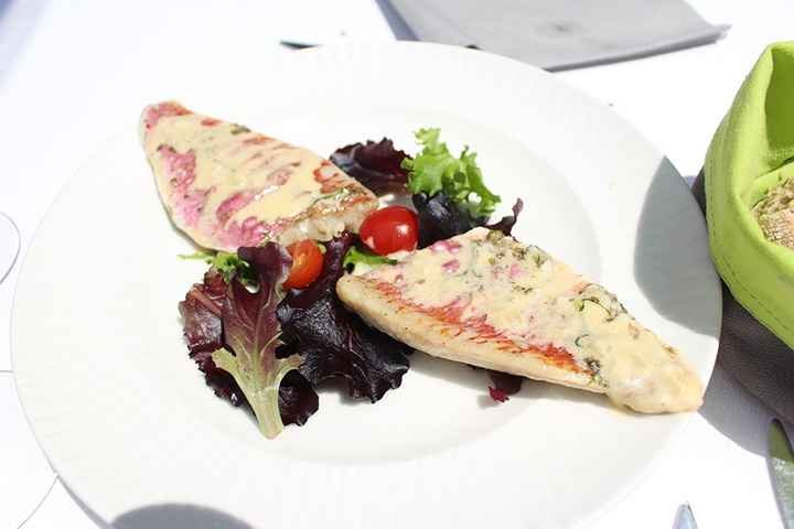 Filets de rouget sauce beurre blanc