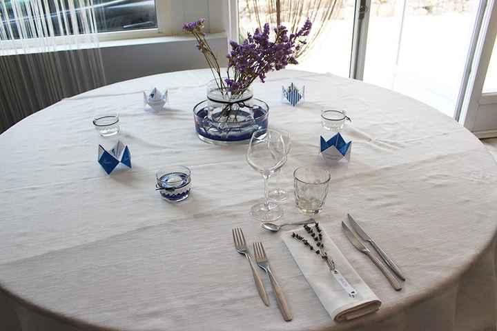 Essai table d'invités