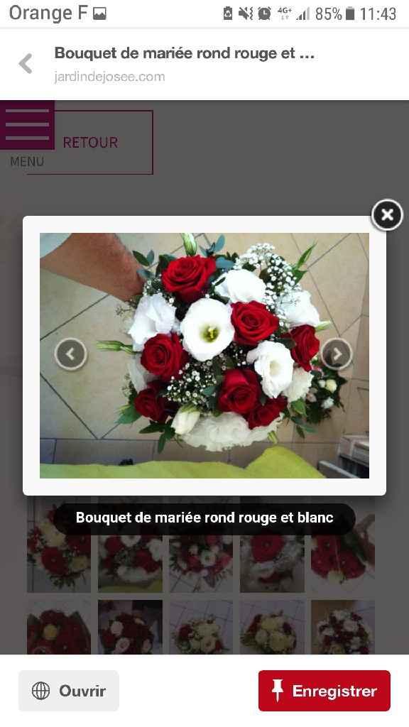 Bouquet de fleur . - 1