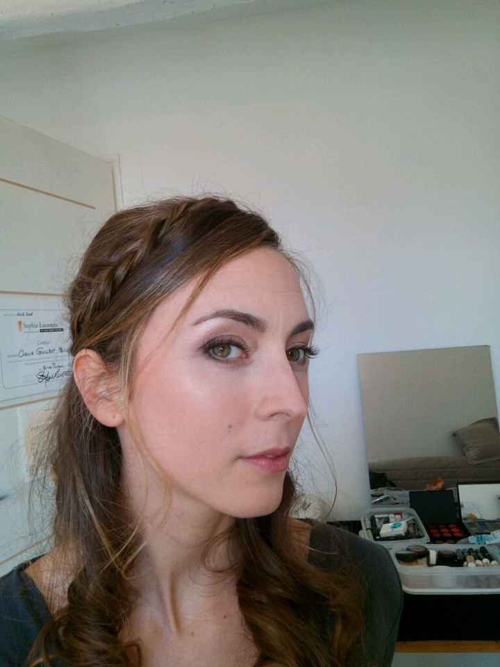 Essais coiffure et maquillage.... - 1
