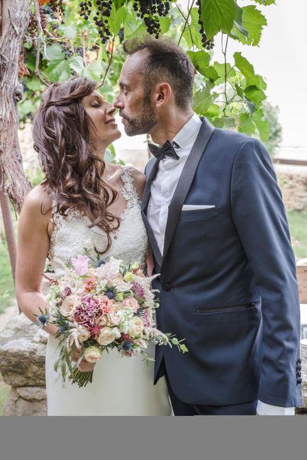 Cheveux attachés ou détachés pour le mariage ? 2