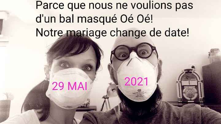 Annonce change the date - 1
