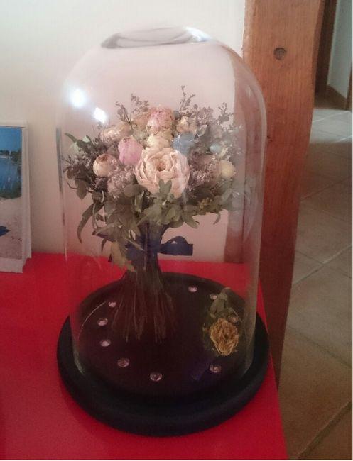 Faire sécher son bouquet après le jour j 4