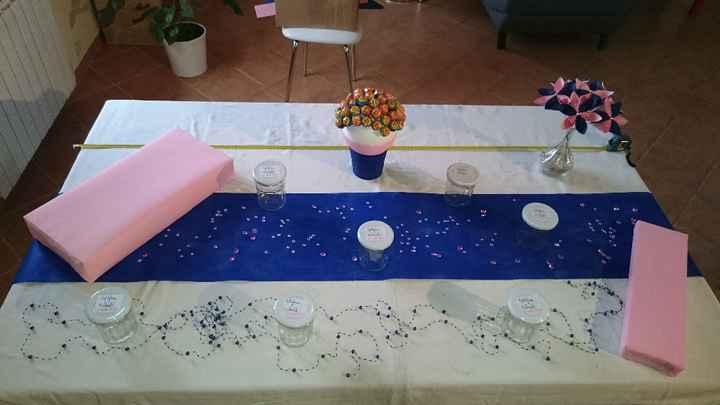 Test table candy bar - Arbre à sucette fon fianlisé (je n'avais plus de sucettes!!) - sur les rectan