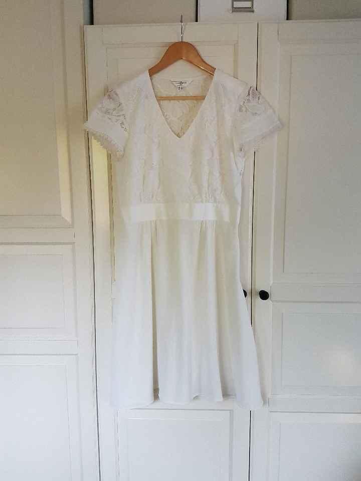 Ma petite robe pour mon mariage civil - 1