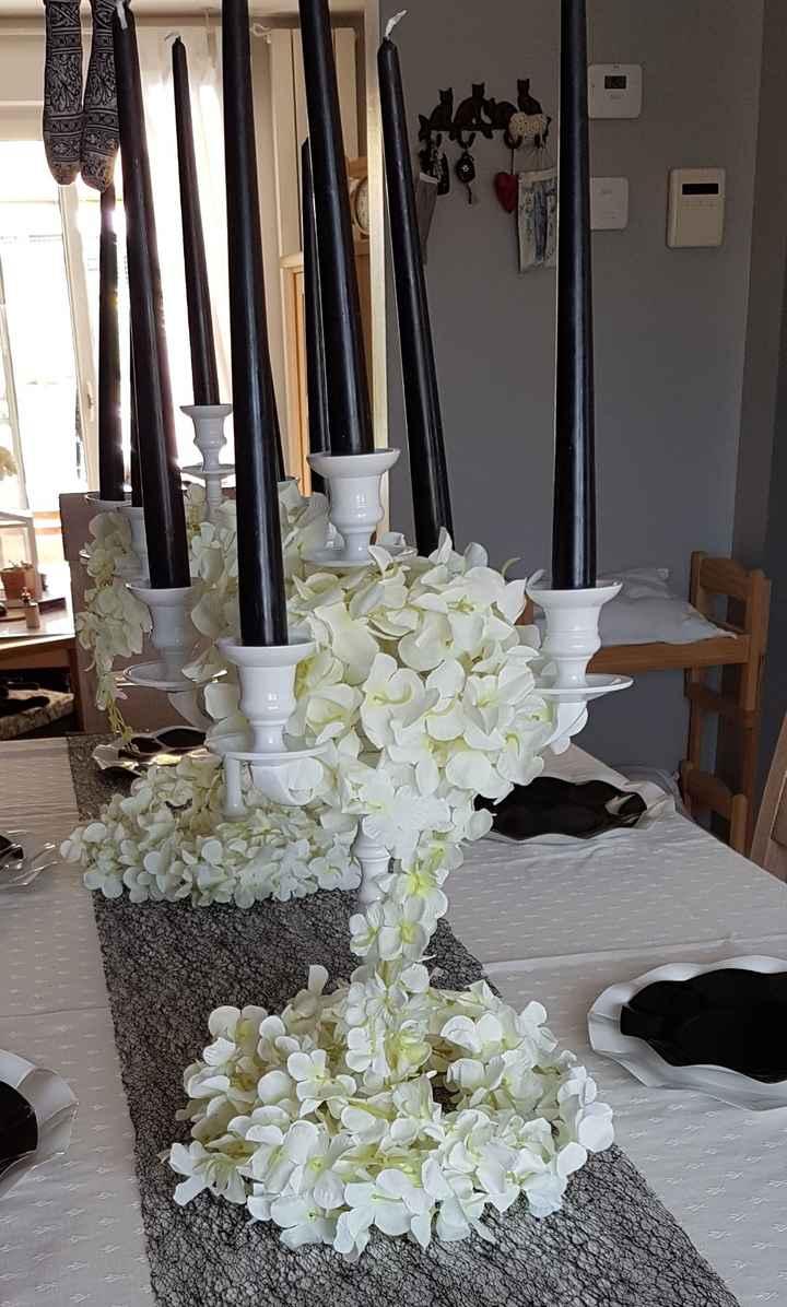 Centres de table champêtre - 2