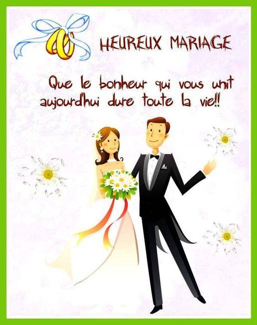 Mariés civilement depuis le 10 6