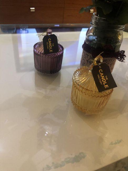 Dragées, bougies ou gobelets ? 1