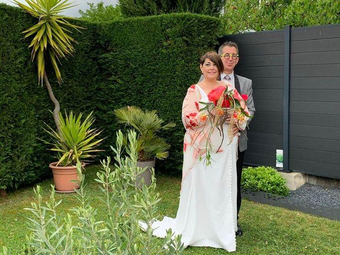 Mariage dans.le.jardinnnn merci covid land 11