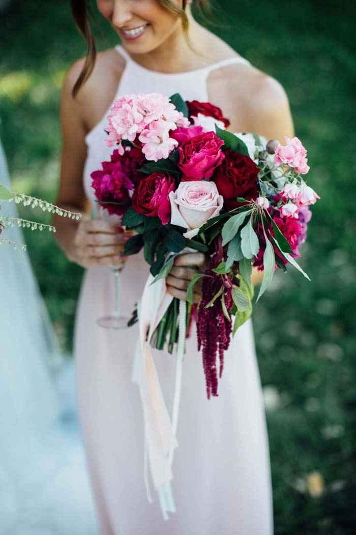 Le bouquet de mariée rose 🤗!!! - 2