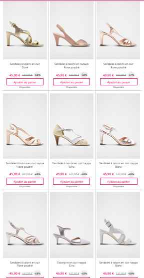 Chaussure sur showroom privée - 2