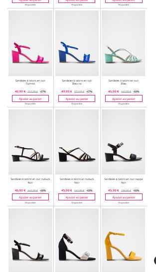 Chaussure sur showroom privée - 3