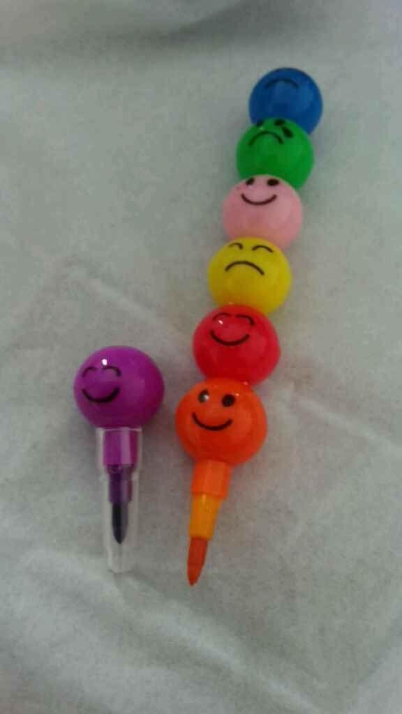 Crayons gras  weeding bag pour les enfants - 1