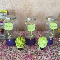 Décoration du mariage sur le thème du jardin en fleurd - 7