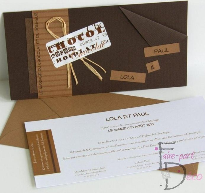 faire part tablette de chocolat avant le mariage forum. Black Bedroom Furniture Sets. Home Design Ideas