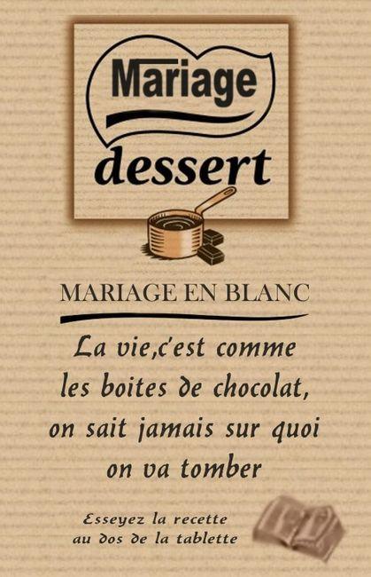 Célèbre Faire part tablette de chocolat - Avant le mariage - Forum  BU21