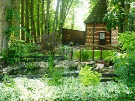 jardin de notre restaurant