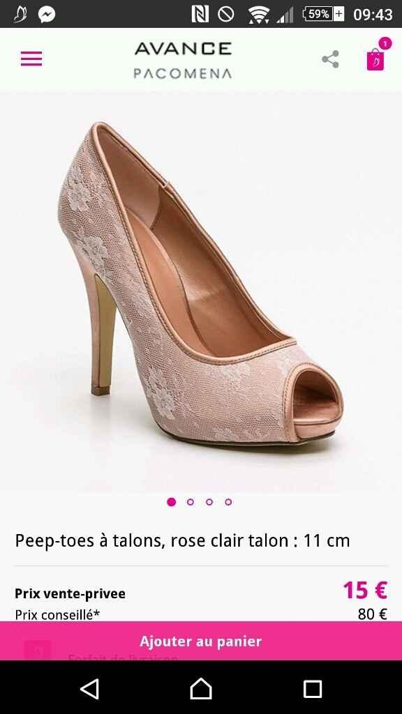Bon plan chaussures - 1